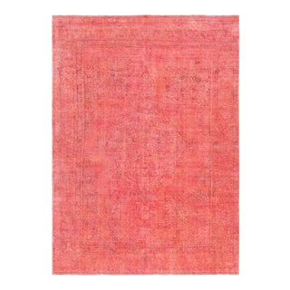 "Pasargad Vintage Overdyed Wool Rug - 8' 1"" X 11' 3"""