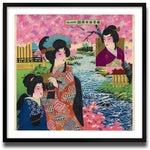 Image of Vintage Japanese Kimono Archival Print