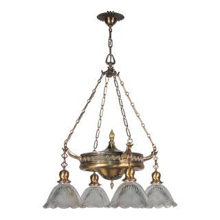 Colonial Revival Light Fixture (4-Light)