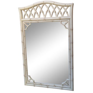 Vintage Thomasville Faux-Bamboo Mirror