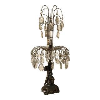 Antique Cherub Lamp