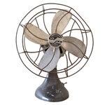 Image of Vintage Fan Le John Desk Fan Patina Black