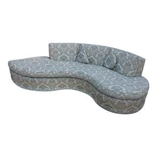 Vladimir Kagan Style Serpentine Sofa