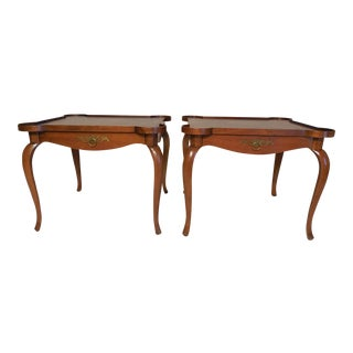 Baker Hollywood Regency Accent Tables - Pair