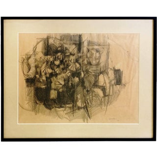 Abstract Charcoal Drawing by Aubrey Penny