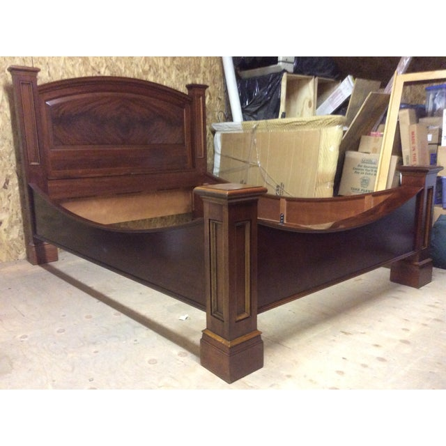 Image of M Craig Railroad Queen Size Bedframe