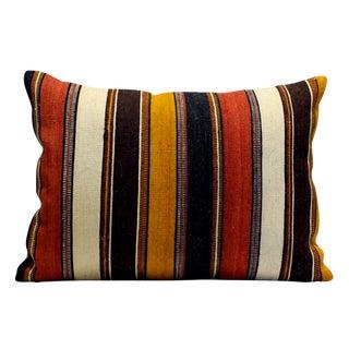 Vintage Wool Jajim Accent Pillow