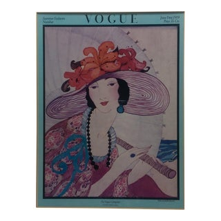 Vintage Vogue Magazine Cover