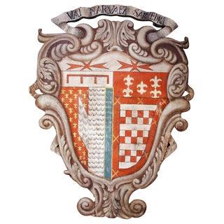 Large, 18th c., Italian Crest