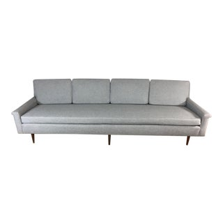 Gray Edward Wormley Extra Long Sofa