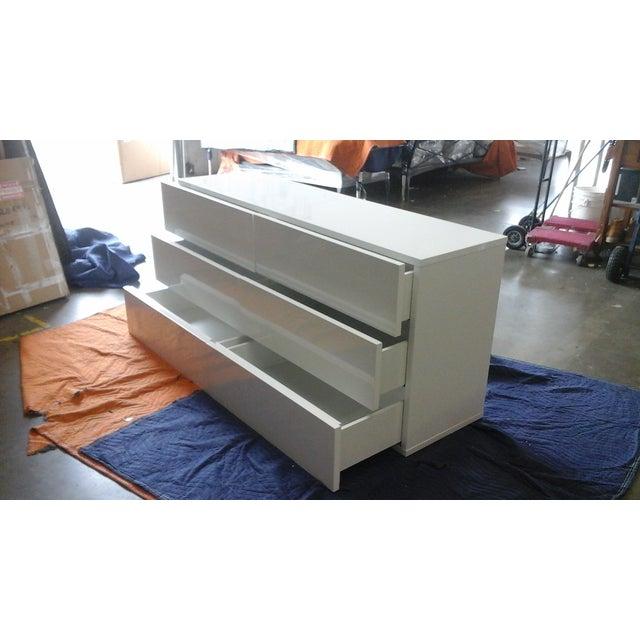 Aurora Modern High Gloss Dresser - Image 3 of 3
