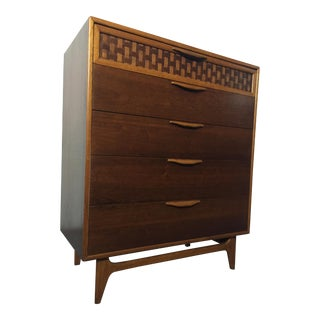 Mid-Century Lane Perception Chest of Drawers by Andre Bus