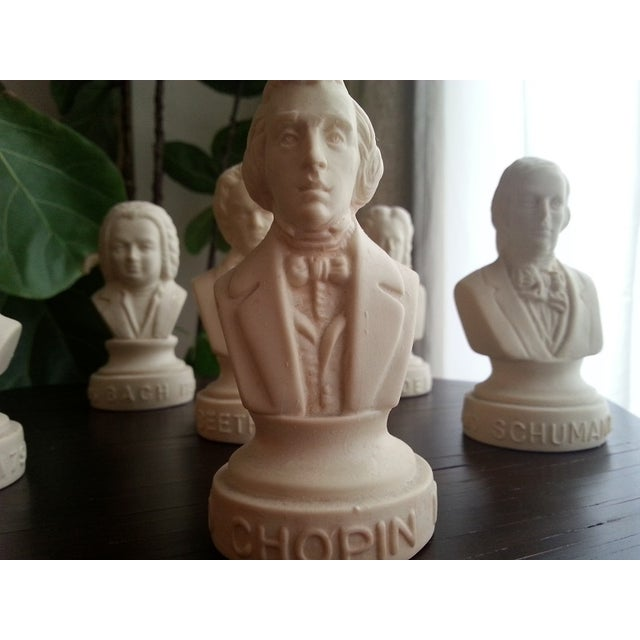 Famous Composer Busts - Set of 6 - Image 4 of 9