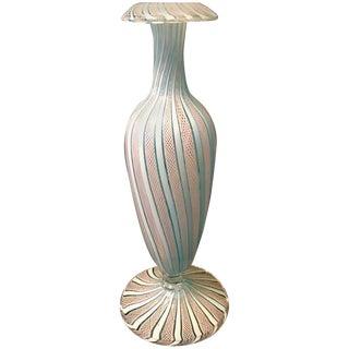 Venini Murano Ribbon Bud Vase