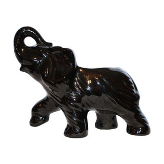 Van Briggle Pottery Elephant Vase High Gloss