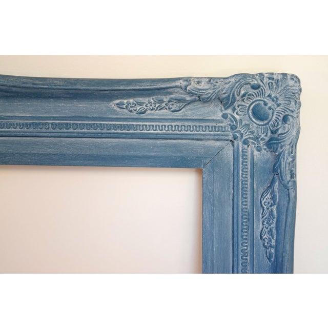 Blue Vintage Picture Frames - A Pair - Image 3 of 9