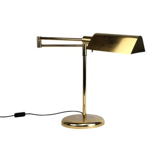 Vintage Brass Plated Table Lamp by Koch and Lowy