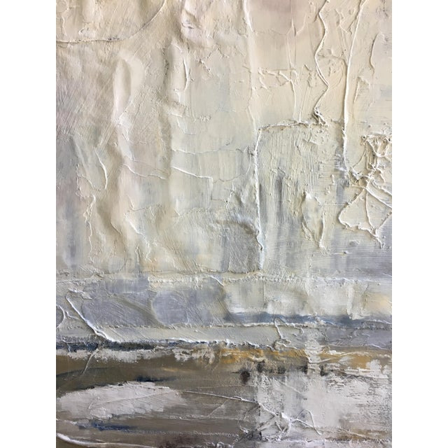 Obscured Horizon Mixed Media Painting - Image 3 of 6