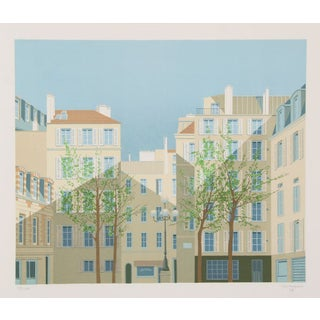 Manolo Tarazona - Paris - La Place De Furstemberg