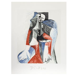 Pablo Picasso - Femme Assise Estate Lithograph