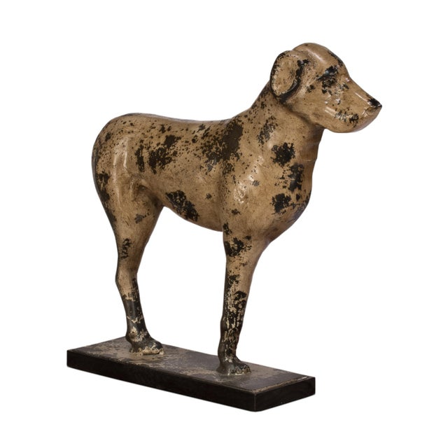 Sarreid LTD Cast Iron Dog Form Boot Scraper - Image 1 of 3