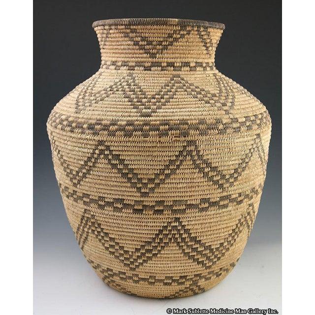Apache Basketry Olla, circa 1890 - Image 4 of 7