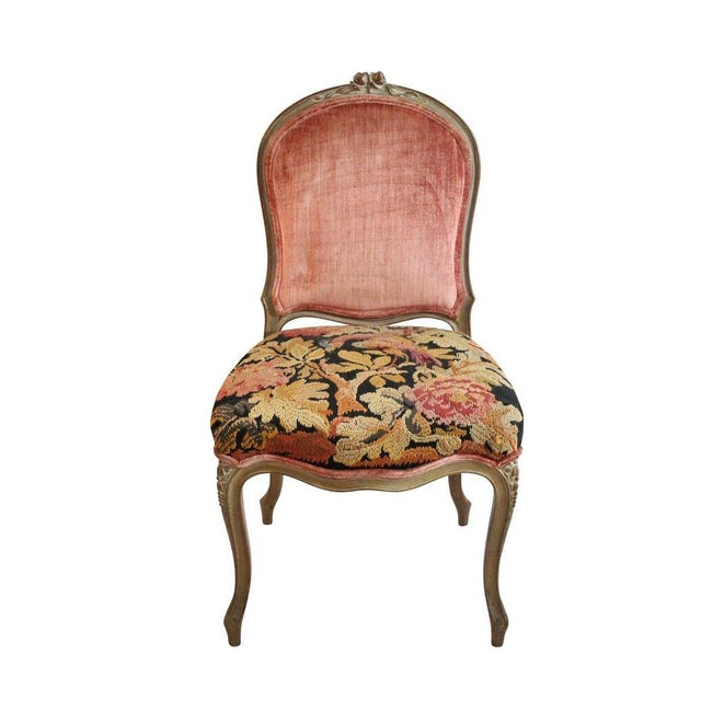 Aubusson Tapestry Chair - Image 1 of 5