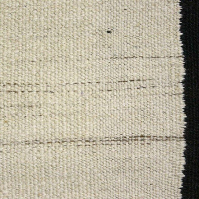 Image of Turkish Cream Flatweave Kilim - 3' x 7'4''