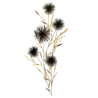 Curtis Jere Dandelion Wall Sculpture