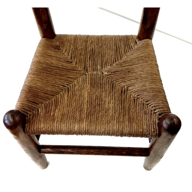 Antique French Farm Child's Chair - Image 4 of 10
