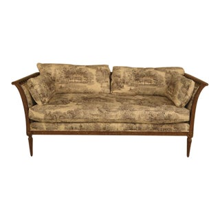 Custom Upholstered Neoclassical Sofa