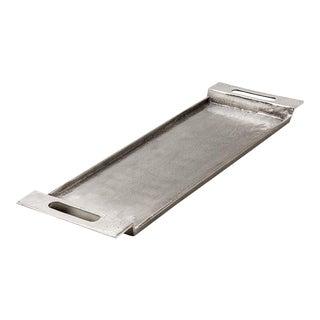 Cari Silver Metal Tray