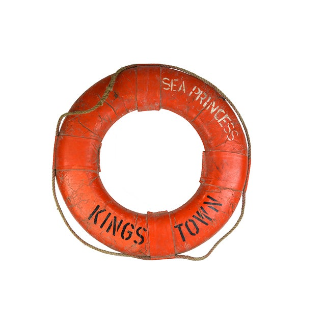 Vintage Nautical Lifeboat Float - Image 1 of 5