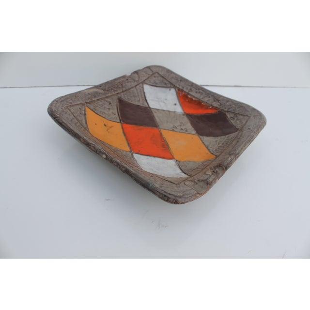 Image of Mid-Century Italian Ceramic Ashtray