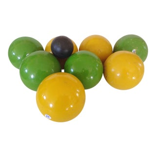 Italian Bocce Ball Set of 9