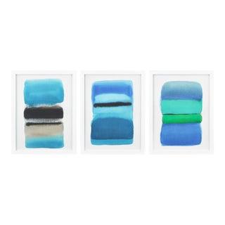 """Ombre Landscape"" Prints by Marinella Perosa - Set of 3"