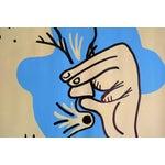 Image of 'p.u!' Acrylic Painting