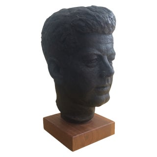 John F. Kennedy Head Bust