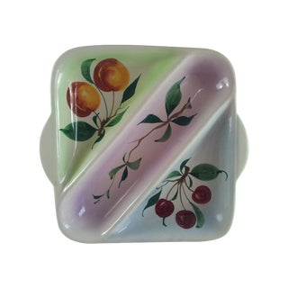 Square Hand Painted Italian Tray