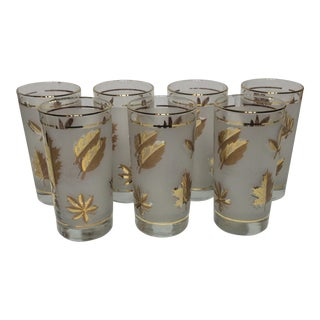 Libbey Glass Tumblers - Set of 7