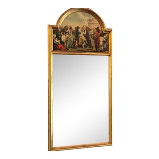 Trumeau-Style Italian Renaissance Mirror