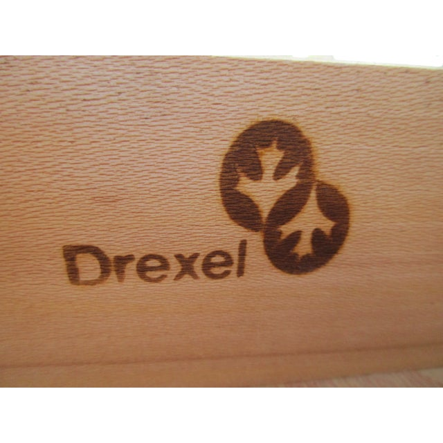 Drexel Heritage Campaign Style Bar Cabinet - Image 10 of 11