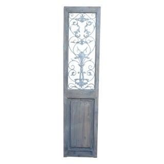 Metal Embellished Door Panel