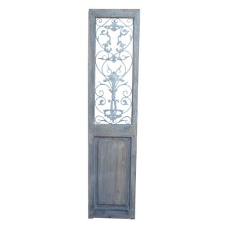 Metal Embellished Door Panel