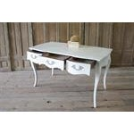 20th Century Louis XV Style White Painted Desk - Image 5 of 6