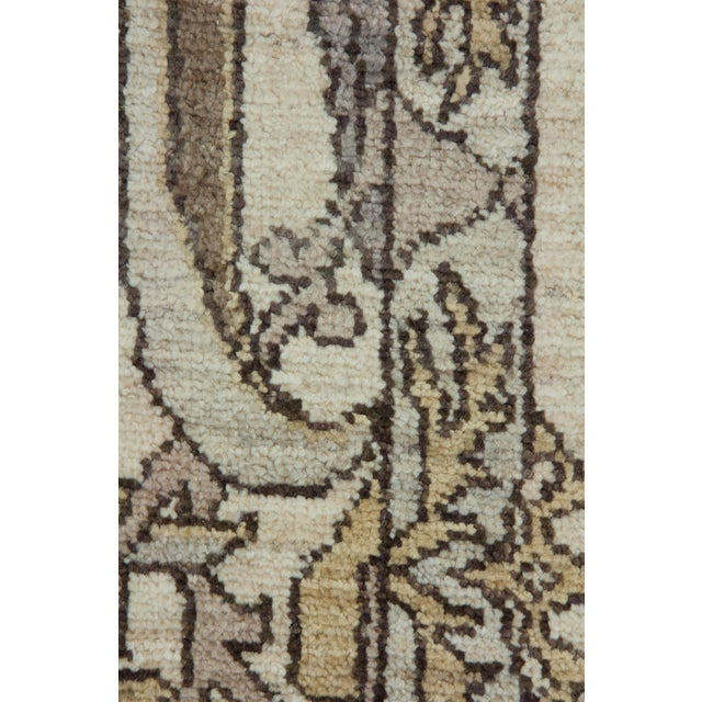 """New Oushak Hand Knotted Area Rug - 6'2"""" x 8'6"""" - Image 3 of 3"""