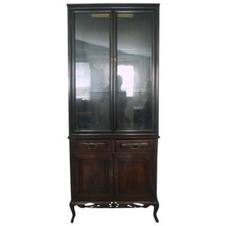 Shanghainese Hongmu/Blackwood Display Cabinet