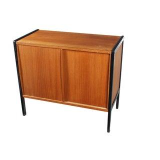 Biedermeier-Style Teak Cabinet
