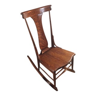Antique Quarter Sawn Oak Rocker