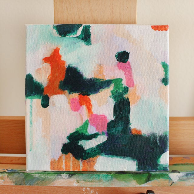 """Image of """"Lois,"""" Abstract on Canvas Painting"""